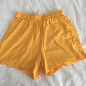 Gold Soffee Shorts